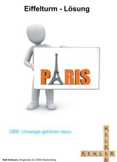 Eiffelturm Lösung 2 Kapitelfolie