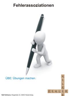 Fehlerbild Fehlerassoziationen Kapitelfolie.