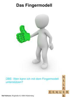 Fingermodell 2 Kapitelfolie