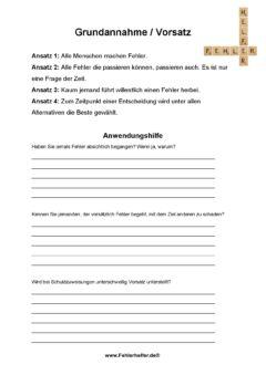 Grujndannahme Vorsatz_Arbeitsblatt