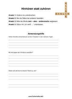 Hinhören_Arbeitsblatt