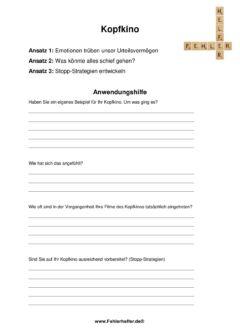 Kopfkino_Arbeitsblatt