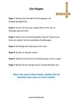 Regeln_Arbeitsblatt
