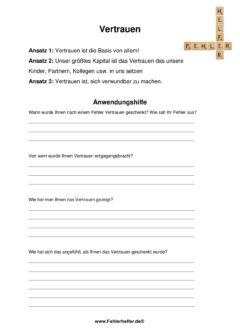 Vertrauen_Arbeitsblatt1