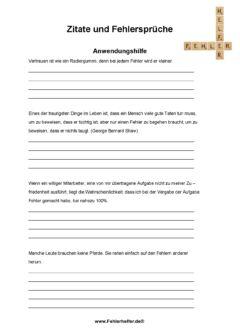 Zitate_Arbeitsblatt